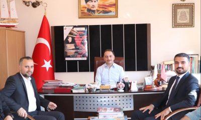 Başkan Kalaycı'dan Ayvacık Belediyesi İl Kültür ve Turizm Müdürü'ne ziyaret