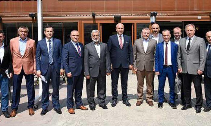 Başkan Togar, Yedaş ve Samgaz yetkilileri ile buluştu