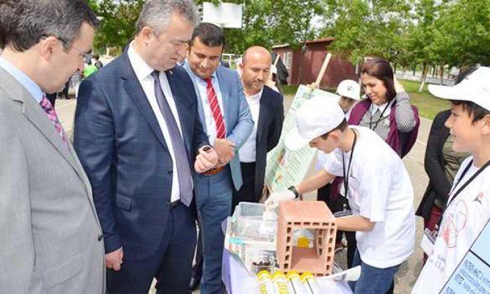 Başkan Topaloğlu Bilim Fuarı açılışına katıldı