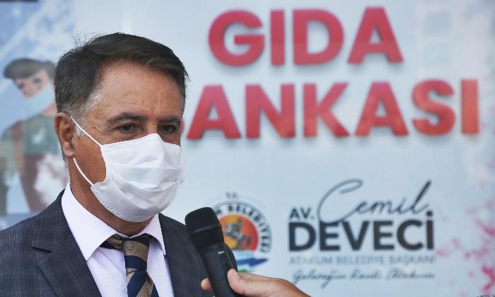 Başkan Cemil Deveci'den Karadeniz'in ilk gıda bankası için dayanışma çağrısı