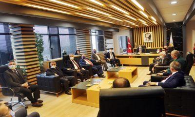 Başkan Cemil Deveci'ye Destek İçin Karadeniz'deki Tüm CHP'li Başkanlar Samsun'a Geldi
