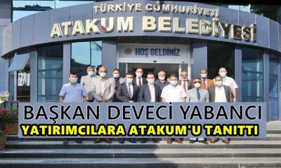Başkan Cemil Deveci Yabancı Yatırımcılara Atakum'u Tanıttı
