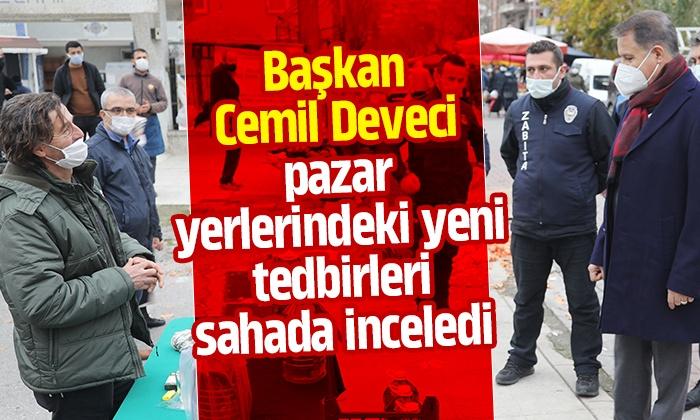Atakum Belediyesi pazar yerlerinde yeni önlemler aldı
