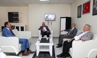 Başkan Demirtaş Kurum ziyaretlerine start verdi