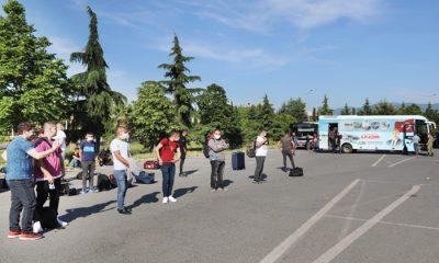 Başkan Demirtaş, Talimat Verdi Kınalı Kuzular Samsun Otogarında Karşılandı