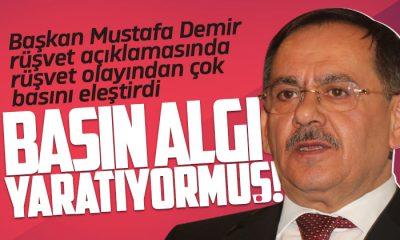 Samsun Büyükşehir Belediye Başkanı Demir basını eleştirdi