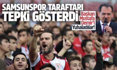 Başkan Mustafa Demir'i Yuhaladılar!