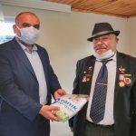 Başkan İbrahim Sandıkçı Gazileri Unutmadı