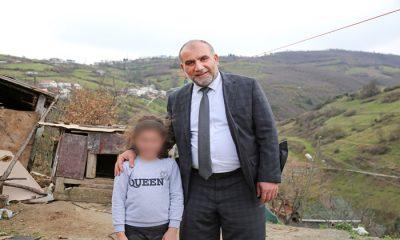 Başkan İbrahim Sandıkçı yetim çocukları sevindirdi