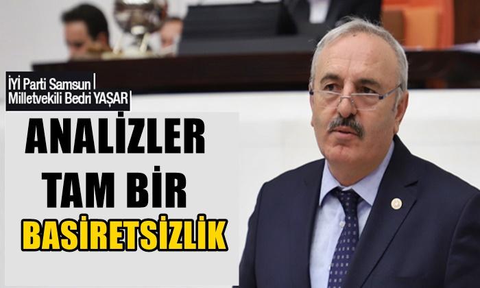 Bedri Yaşar: Covid Sürecinde Açıklanan Birçok Paket Boş Çıkmıştır