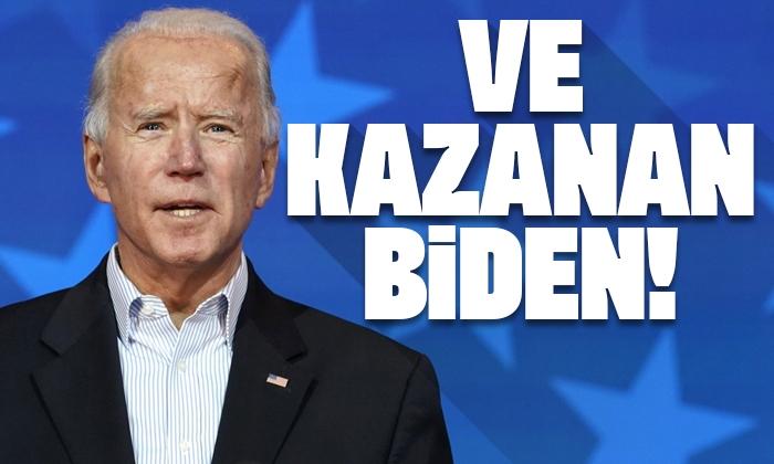 Son dakika! ABD medyası: Joe Biden ABD'nin 46. başkanı oldu