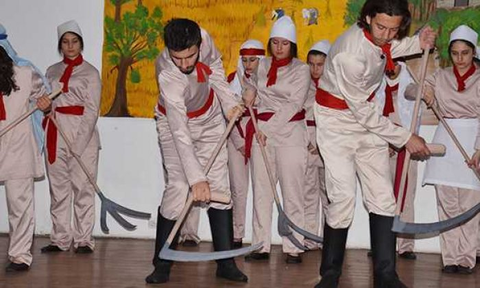 Bizim Yunus adlı tiyatro gösterileri tamamlandı