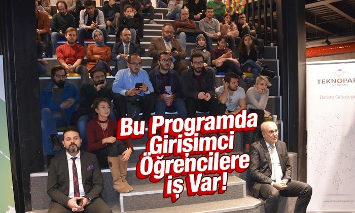 TÜSİAD Bu Gençlikte İŞ Var! paneli OMÜ'de düzenlendi