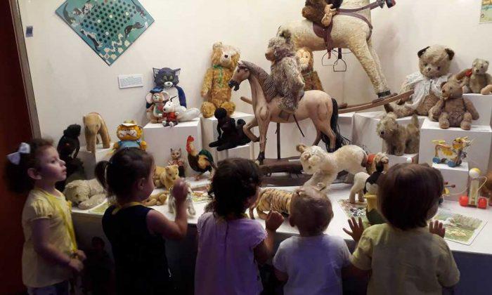 Oyuncak müzesine çocuklardan yoğun ilgi