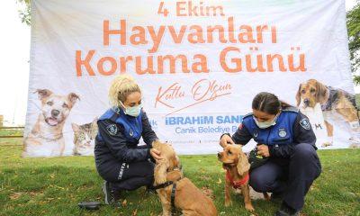 Canik'te Dünya Hayvanları Koruma Günü etkinliği düzenlendi