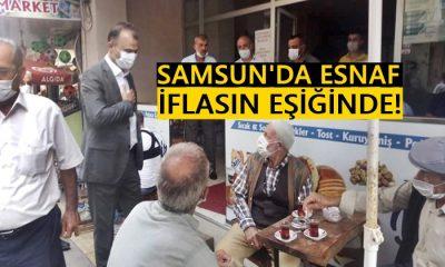CHP İl Başkanı Türkel: Samsun'da Esnaf İflasın Eşiğinde!