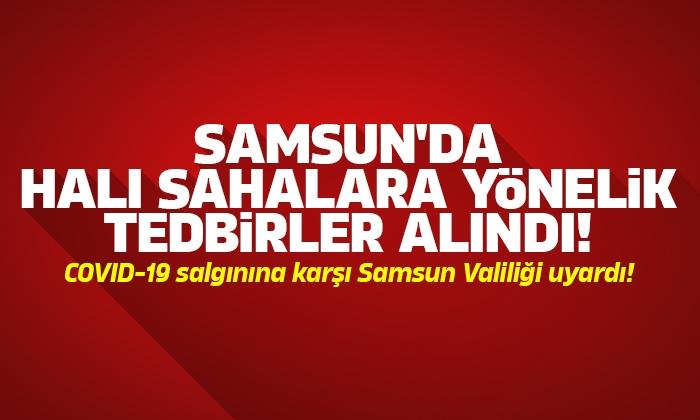 Samsun'da halı saha tesislerine yönelik tedbirler alınacak
