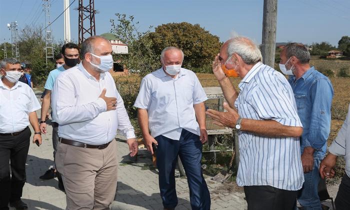 Canik Belediye Başkanı İbrahim Sandıkçı Başalan Mahallesini Ziyaret Etti