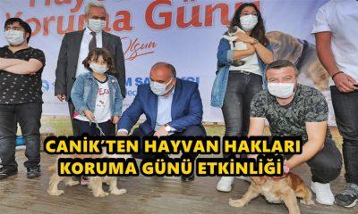 Canik Belediyesi'nden Hayvan Hakları Etkinliği Düzenledi
