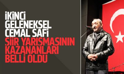 Cemal Safi şiir yarışmasının kazananları belli oldu