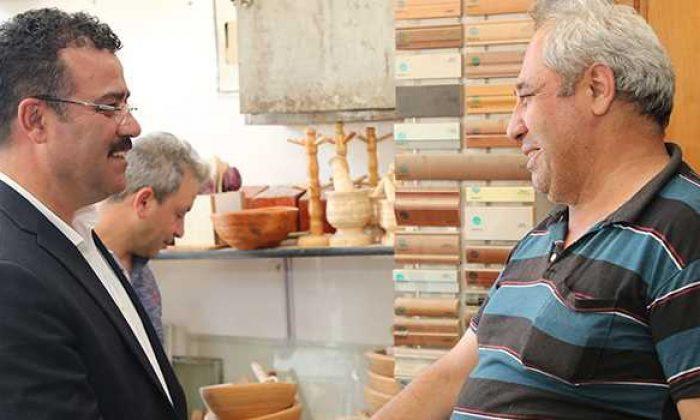 Başkan Taşçı'dan mahalle ziyaretleri