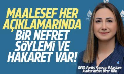 Türk: Her açıklamalarında hakaret var
