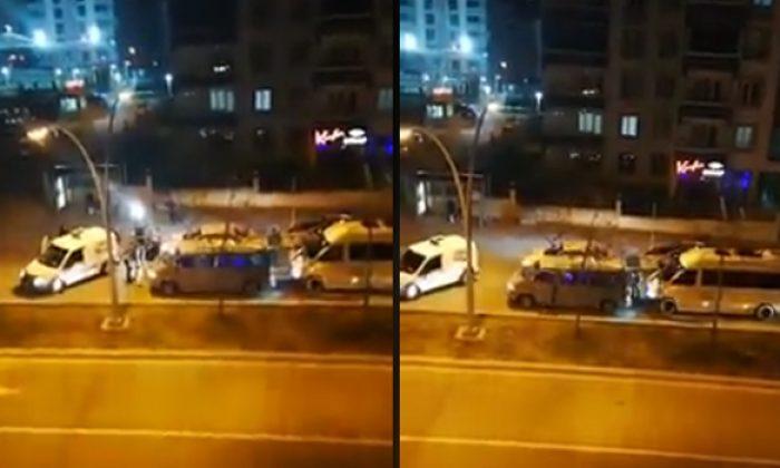 Drift atan sürücüye 5.010 tl para cezası uygulandı