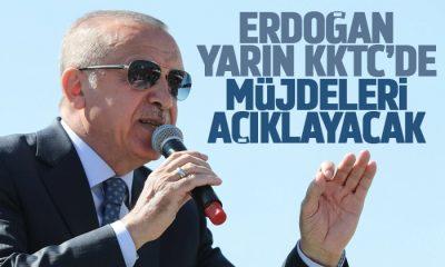 Erdoğan müjdeleri yarın açıklayacak