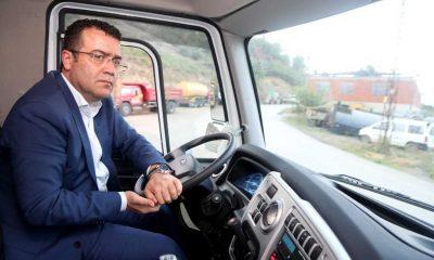 Atakum Belediyesi Araç filosunu güçlendirdi Test sürüşü Başkan Taşçı'dan