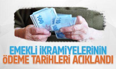 Emekli ikramiyelerinin ödeme tarihleri açıklandı