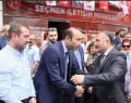 Erhan Usta teşkilat ile bayramlaştı