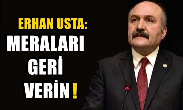 Erhan Usta: Köyde Yaşamı Pahalılaştırmayalım