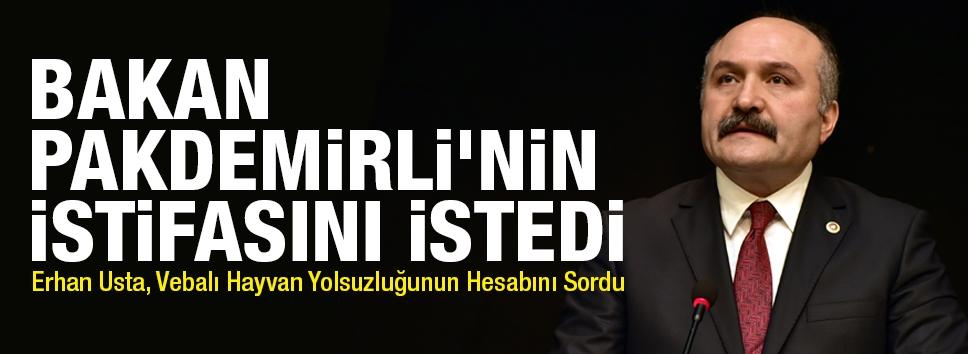 Erhan Usta, Vebalı Hayvan Yolsuzluğunun Hesabını Sordu