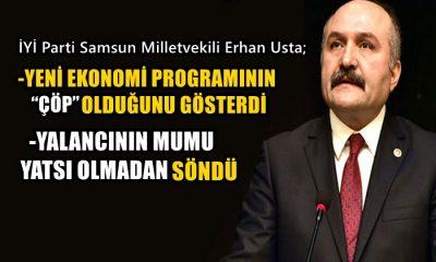 Erhan Usta: Yalancının Mumu Yatsı Olmadan Söndü
