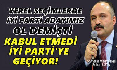 Erhan Usta İYİ Partili Oluyor!