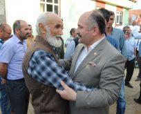 Erhan Usta teşkilat ziyaretinde bulundu