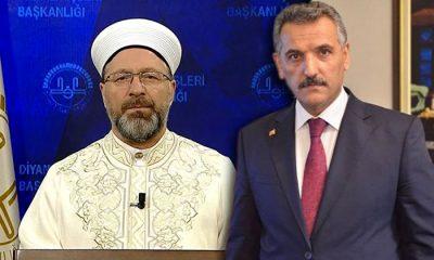 Samsun Valisi Osman Kaymak;Diyanet İşleri Bakanı Ali Erbaş'a destek verdi