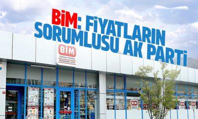 Bim'in sahibi fahiş fiyat artışının sorumlusu AK Parti hükümeti dedi