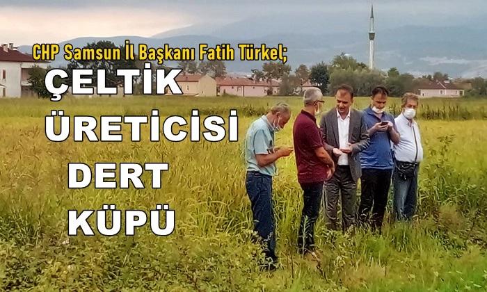 Fatih Türkel: Çeltik Üreticisi Dert Küpü