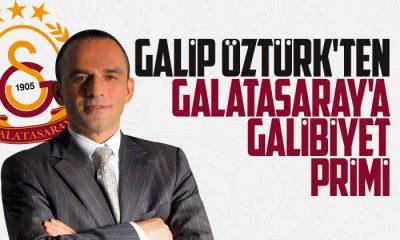 Galip Öztürk'ten Galatasaray'a galibiyet primi