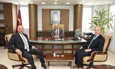 Başkan Togar'dan Kaymakam Çakıcı'ya ziyaret