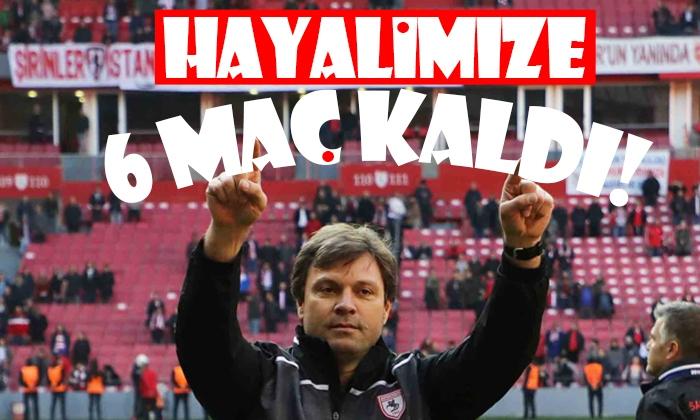 Ertuğrul Sağlam: Süper Lig hayalimize 6 maç kaldı