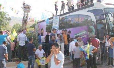 HDP Siirt mitinginde hüsran yaşadı