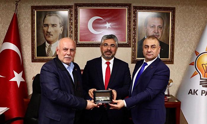 AK Parti Samsun İl Başkanlığını ziyaret