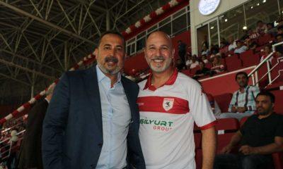 Karaduman Samsunspor'a başarılar diledi