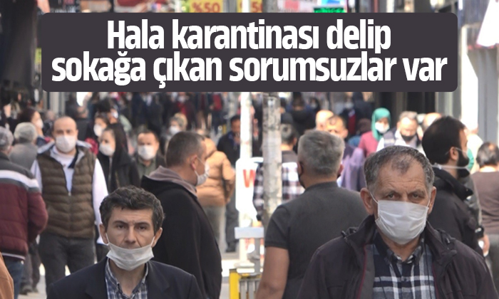 Samsun'da karantina ihlali yapan 8 kişiye ceza kesildi