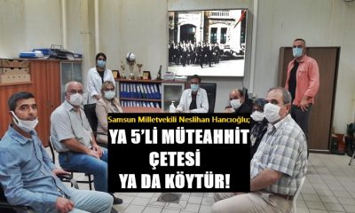 Hancıoğlu: Ya 5'li Müteahhit Çetesi Yada KÖYTÜR