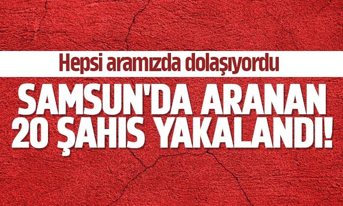 Samsun'da 8316 şahsın GBT sorgusu yapıldı