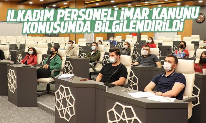 Yapı kontrol personeline imar kanununa yönelik eğitim semineri verildi