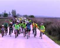 Deltada bisiklet gezisi